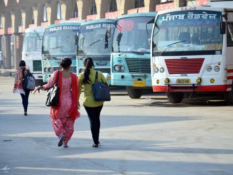 Bus drivers and conductors of private buses held protests at various places including Muktsar, Bathinda, Faridkot, Amritsar, Patiala, Rajpura, Khanna, Jalandhar in the state and blocked roads leading to bus stands, causing traffic jam. Sameer Sehgal/HT