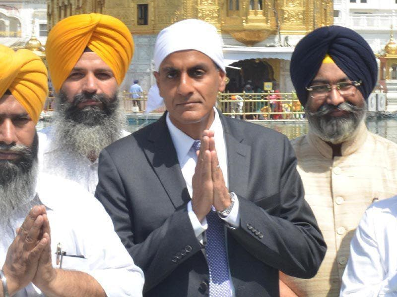 Richard Rahul Verma is on a two-day visit to Punjab beginning today. Sameer Sehgal/HT