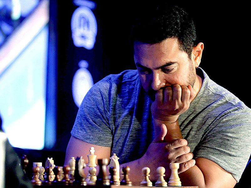 Aamir Khan was present at the inauguration of the third edition of the Maharashtra Chess League here on Friday.