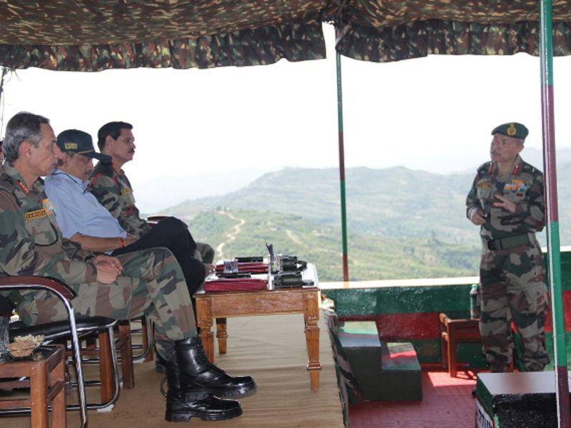 The defence minister, who had interacted with the troops posted in the toughest deployment terrain, had praised the courage of the troops and their devotion to duty.