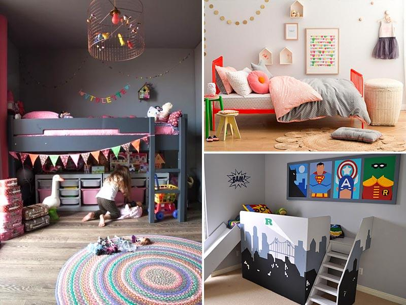 Create space: When designing an interior scheme for your baby's room, it's essential to keep in mind that he or she needs a lot of space. If you have one room for two children, a bunk bed is a great idea. Not only do children find it cool and fun, it also makes way for an activity area. Just spread a funky carpet, scatter a few toys here and there and the perfect playroom is ready. Your little princess can also lay her Barbie set here and delve into her beautiful world of fantasy. (Pinterest)