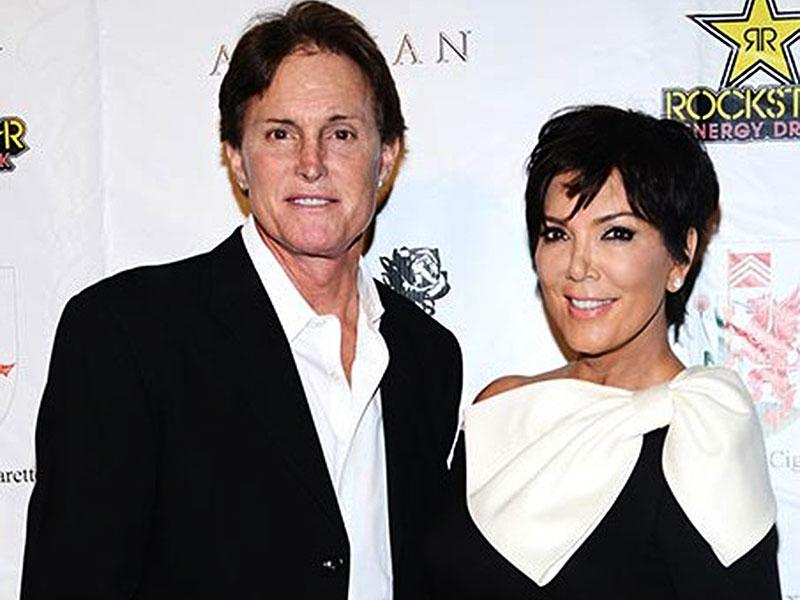 Bruce Jenner, now called Caitlyn, with ex-wife Kris Jenner. The two divorced, after which Bruce announced he had a