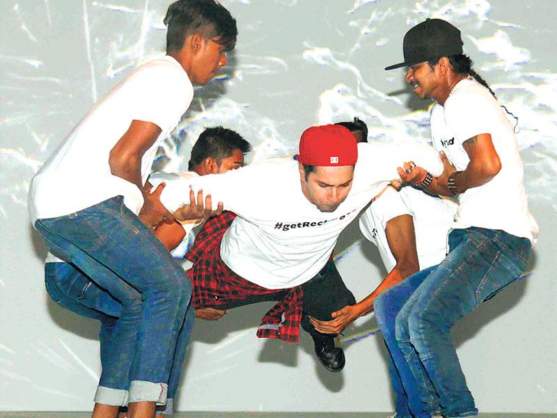 Varun Dhawan at a promotional Event for ABCD 2. (Photo: Viral Bhayani)