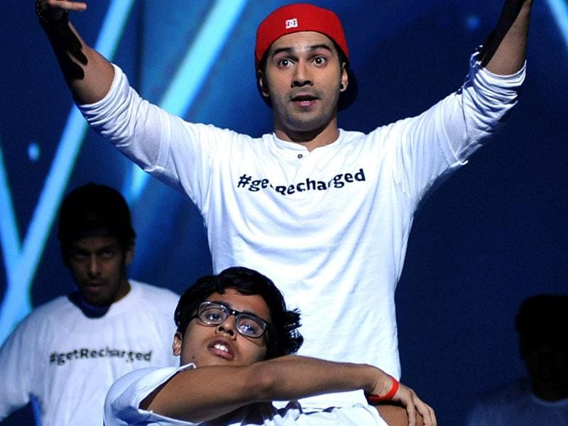 Varun Dhawan is on a high promoting ABCD 2. (AFP Photo)