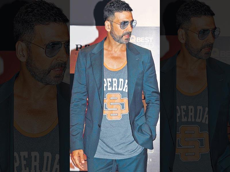 No one can beat Akshay Kumar when it comes to raw appeal. (Photo: Yogen Shah)