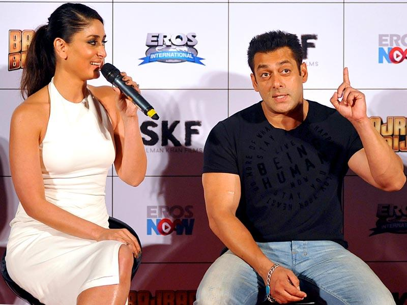 Bajrangi Bhaijaan is about a small girl who accidentally arrives in India. (AFP Photo)