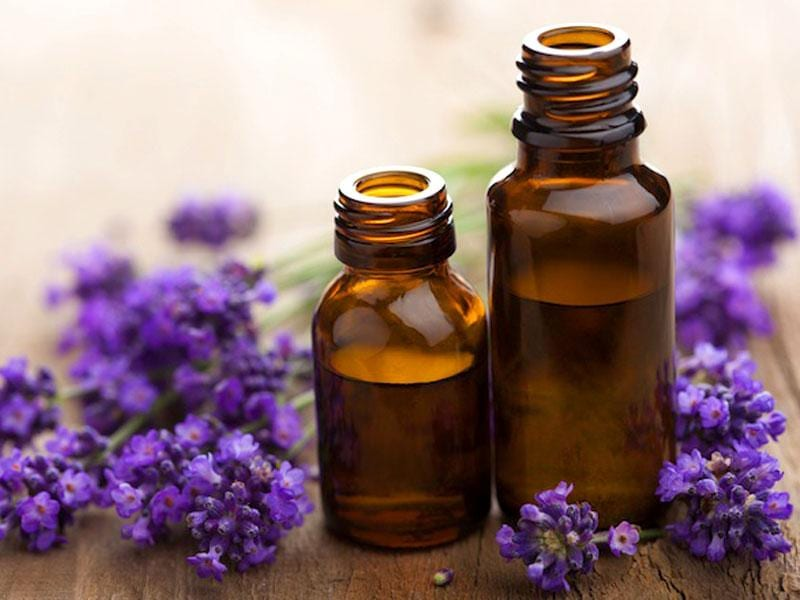 Lavender oil: To avoid any sort of difficult situation at work place, rub lavender oil on your wrist and temples. This will keep you calm.