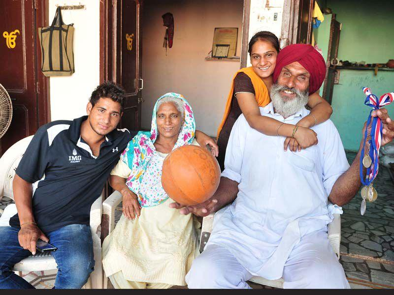 Satnam Singh Bhamara, the first Indian-born player to be drafted in the NBA League, was introduced to basketball by his father, who is a farmer.
