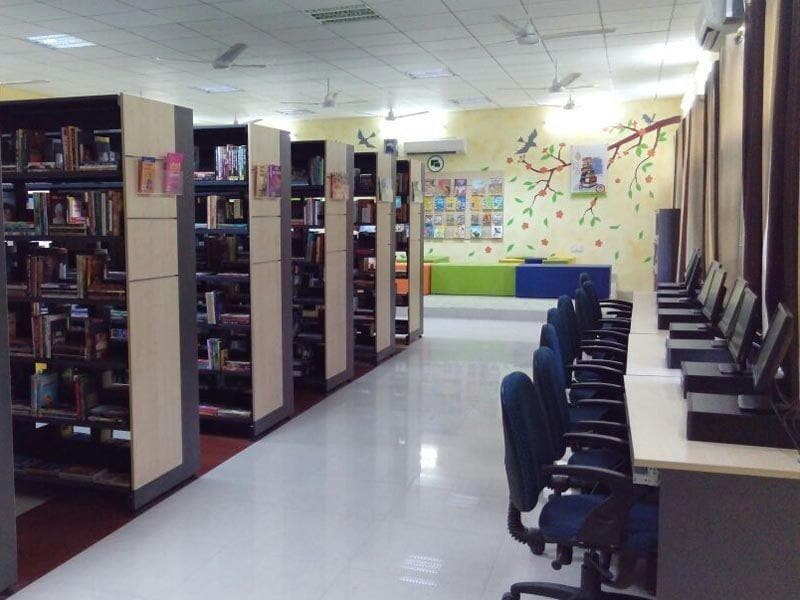 The e-library would soon provide free access to internet surfing and downloading to the visitors on the newly-installed desktops.