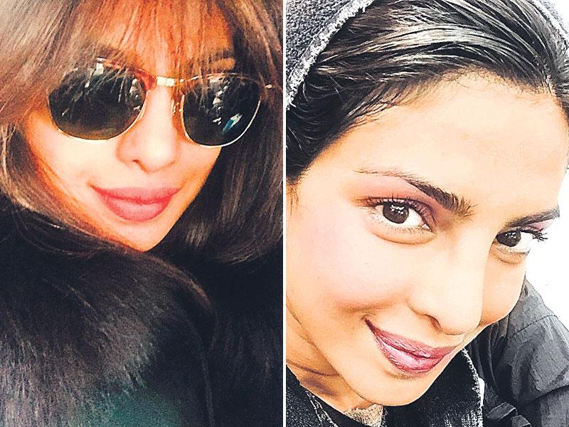 Priyanka Chopra: The pursed lip   Some selfies deserve a starry touch. Here's to PeeCee for acing selfies that show off her lips sans any hint of her pearly whites. Apple of the cheeks in position, lipstick perfect and swag in place – are you, too, doing the selfie like her?
