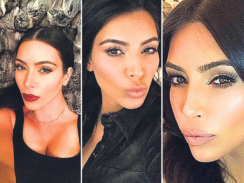 Kim Kardashian: The classic duckTV star Kim Kardashian is the undisputed queen of the pout. The duckface is her talisman, which promises 'likes' in thousands on social networks. Eyes on smoulder mode, plumped lips and cheekbones you could cut glass on – if you've got these covered, you got the Kim selfie face!