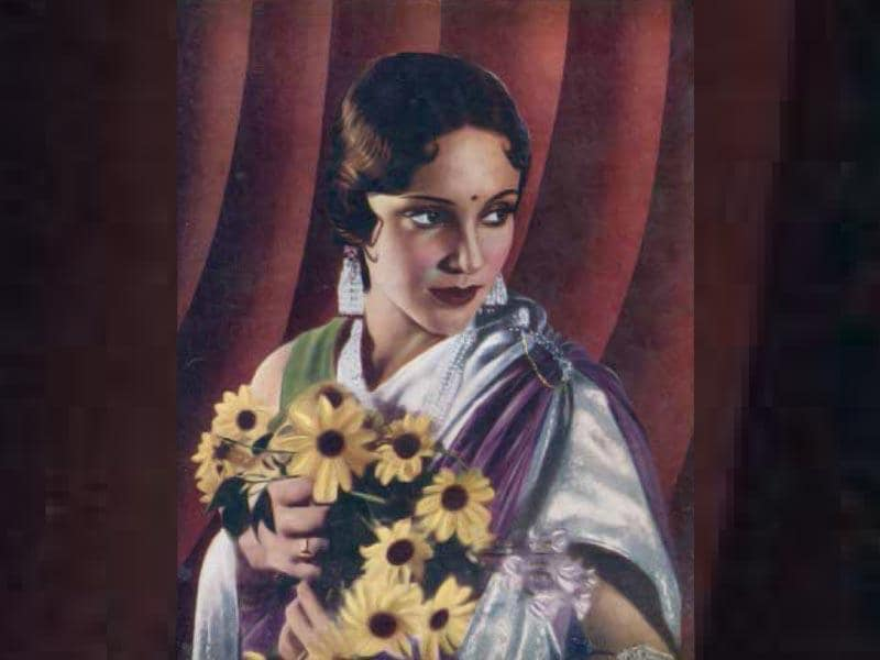 Devika Rani is also called the first lady of Indian cinema. She married the Indian film producer Himanshu Rai and the two established a production house, Bombay Talkies in 1934. The two acted in a 1933 film called Karma, which is considered to be one of the earliest Indian films with a kissing scene.