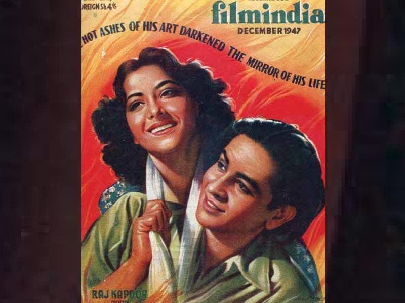 Aag (1947) was the first film to be produced under Raj Kapoor's RK Banner - and it was also the first film he directed. It also starred Nargis and Shashi Kapoor as a child artist who played a younger Raj Kapoor.