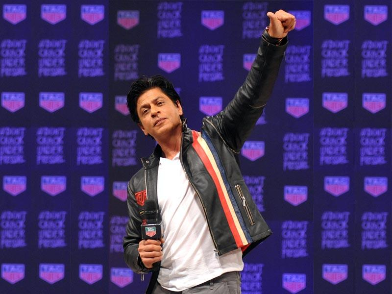 Shah Rukh Khan-ism 2: I love being a celebrity. I think the nicest gift God can give anyone that you are recognised