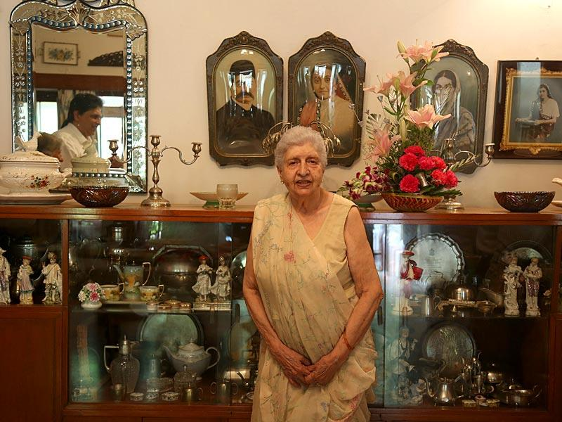 Old world grace: Every year, Gulbanoo Chenoy, president of the Parsi Zoroastrian Anjuman of Secunderabad and Hyderabad, hosts a feast on the occasion of Navroz. HT Photo
