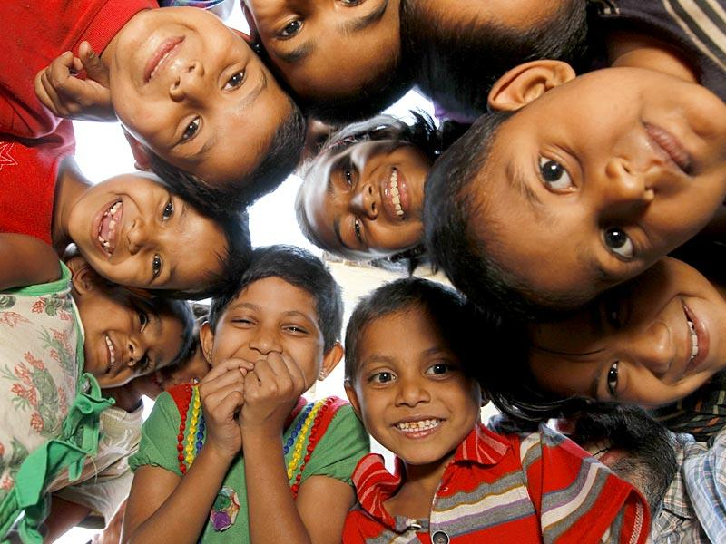 Surat, India - March 20, 2015: Parsi children at a welfare home in Surat, India, on Friday, March 20, 2015. (Photo by Gurinder Osan/ Hindustan Times)