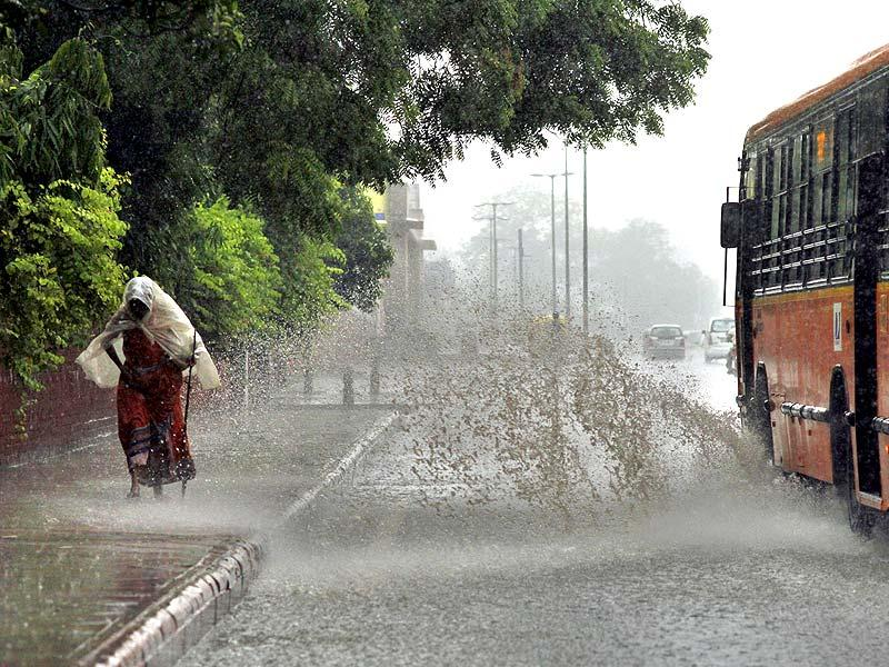 Northwest India is likely to see occasional storms over the next few days breaking the spell of high heat. (Arun Sharma/ HT Photo)