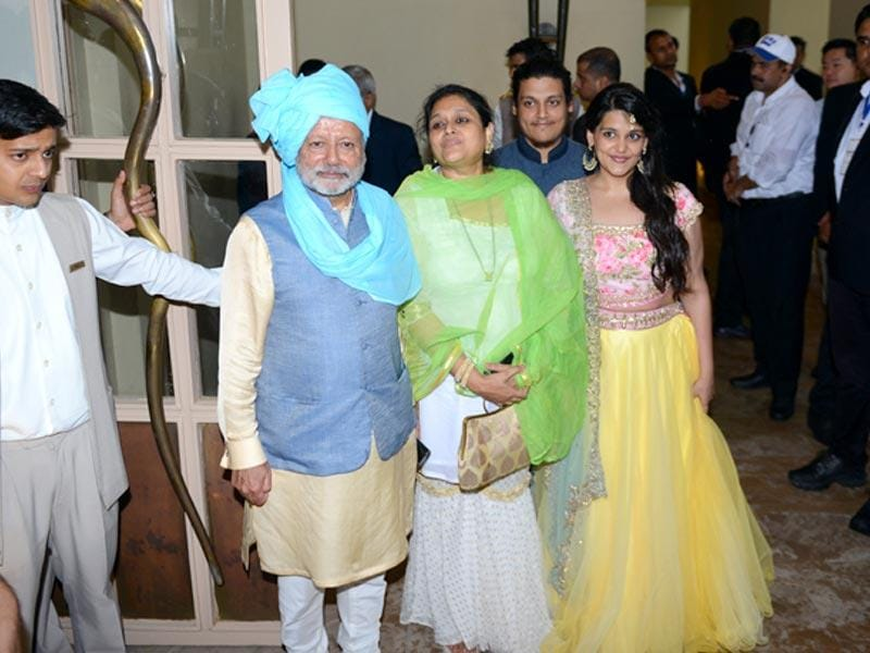 Pankaj Kapur and Supriya Pathak also posed for the media. (Photo: Waseem Gashroo/ HT)