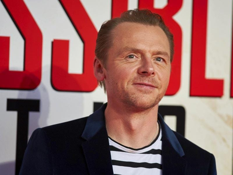 British actor and comedian Simon Pegg reprises his role as Benji in Mission Impossible: Rogue Nation. (AFP Photo)
