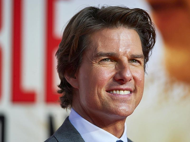 Superstar Tom Cruise returns as Ethan Hunt in Mission Impossible: Rogue Nation. (AFP Photo)