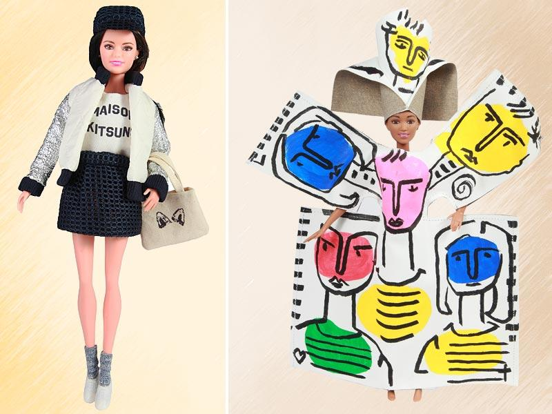 Year 2015 is the year of Barbie and fashion. It's a story that's already more than five decades old, but this year, the doll has taken another important step with the Barbie Fashionista line. Makeover by Maison Kitsuné and Jean-Charles de Castelbajac.