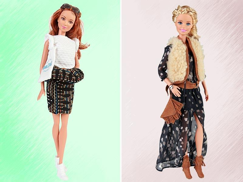 A model for young girls around the world, but also a fashion icon, Barbie transcends generations by adapting to the evolutions of the world that surrounds her. Makeover by Balzac Paris and Ba&Sh.