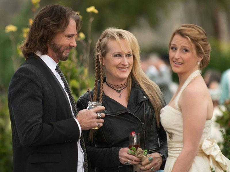 Rick Springfield with Meryl Streep and her daughter Mamie Gummer. (Sony Pictures/AP)