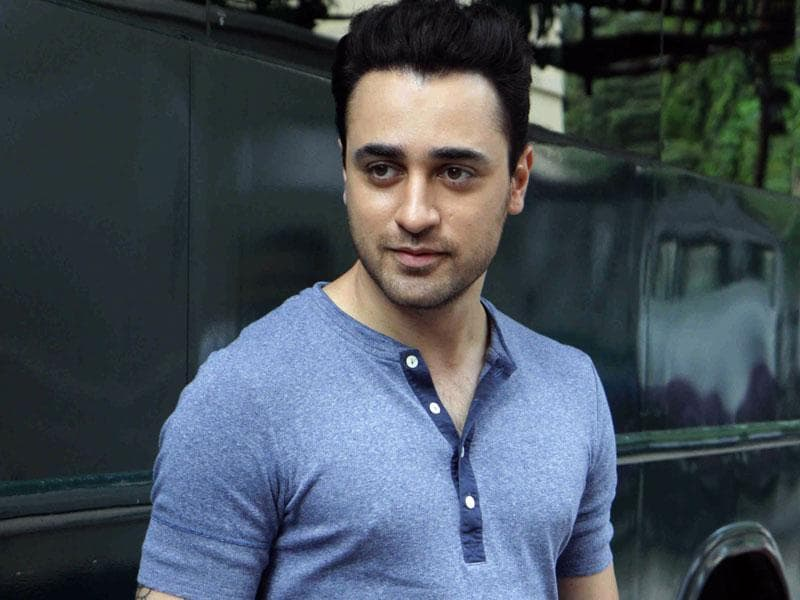 Imran Khan was last seen in 2013 film Gori Tere Pyaar Mein. (AFP Photo)