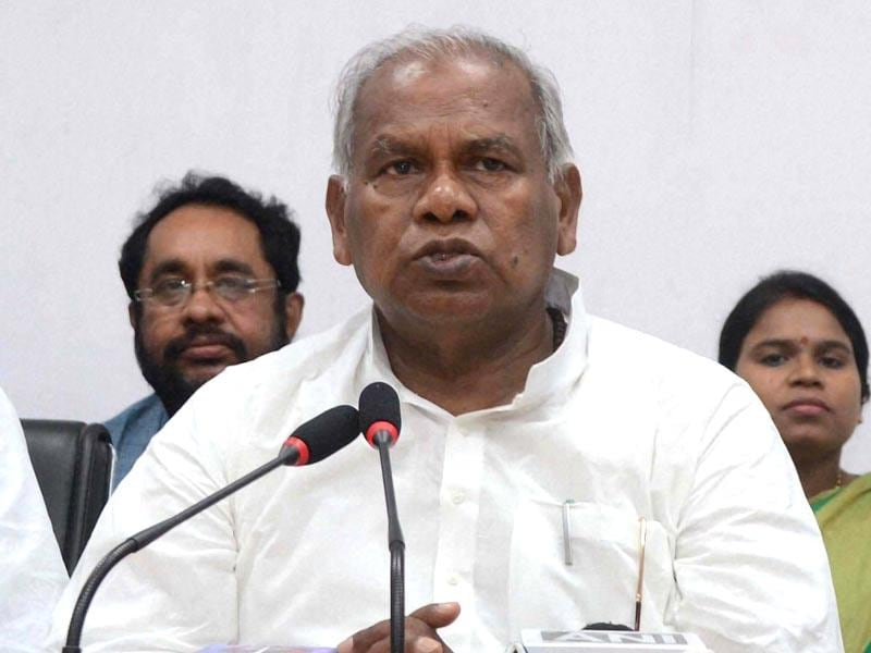 After quitting as Bihar CM in 2015, Jitan Ram Manjhi floated Hindustan Awami Morcha (HAM) and has joined hands with the BJP. (PTI Photo)