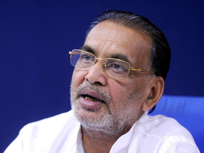 Radha Mohan Singh was first elected to Lok Sabha in 1989 from East Champaran and continued to represent his constituency in 1996, 1999, 2009 and 2014.(HT Photo/Sonu Mehta)