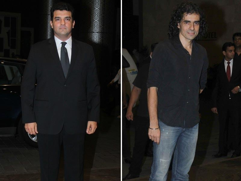 Producer Sidharth Roy Kapoor and director Imtiaz Ali graced the occasion to congratulate Shahid and Mira.