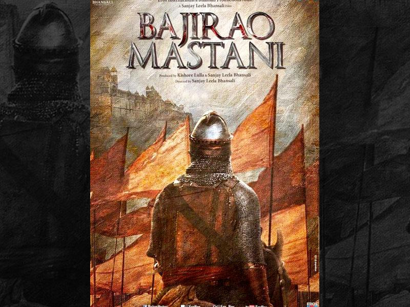 Ranveer Singh tweeted the poster of Bajirao Mastani with an ominous warning: The storm is coming. (Courtesy: Twitter/@ranveerofficial)