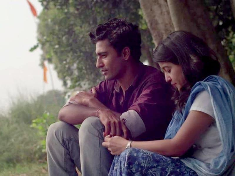 Vicky Kaushal and Shweta Tripathi in a still from Neeraj Ghaywan's Masaan.