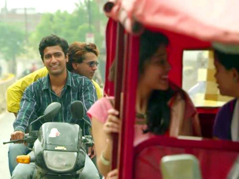 Vicky Kaushal plays Deepak, the lead character for one of the two stories in Masaan.