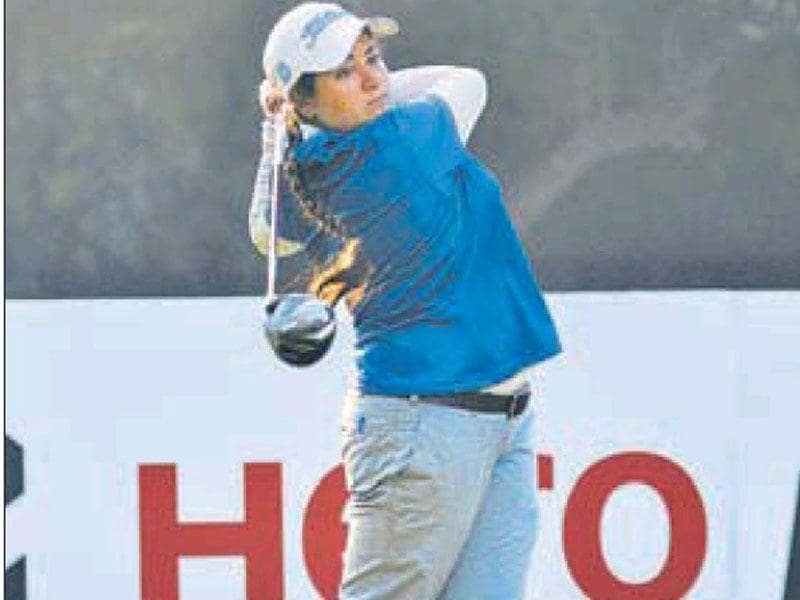 Amandeep Drall ended the final day with a score of 1 over 73 in the 12th Leg of the Women's Professional Golf Tour.