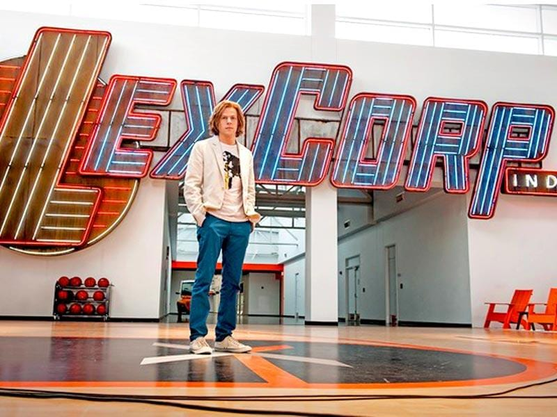 Jesse Eisenberg's Lex Luthor looks like he just invented Facebook. (Warner Bros.)