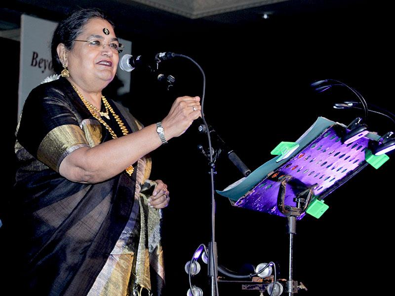 For over 44 years now Usha Uthup has spread a message of love and unity, peace and harmony, integrity and happiness - through music. (Photo/ HT PACE)