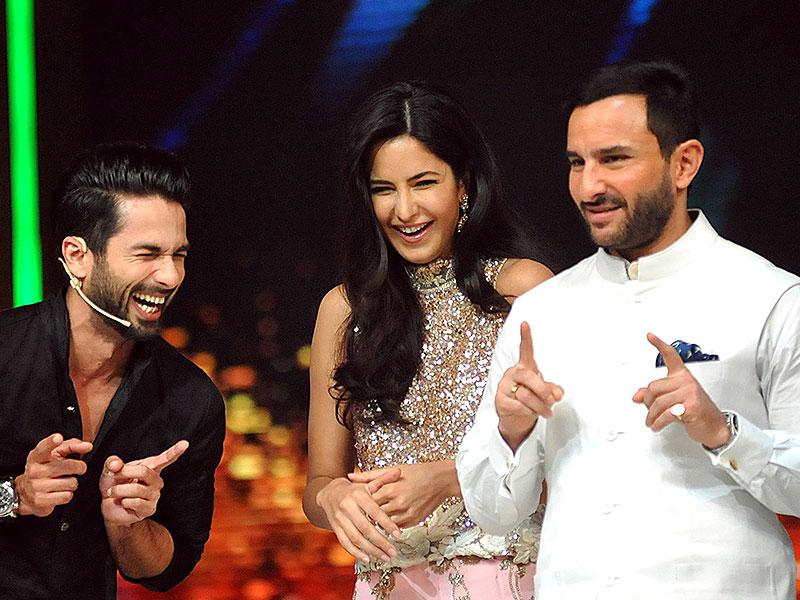 Phantom stars Saif Ali Khan and Katrina Kaif in the lead roles. (AFP Photo)