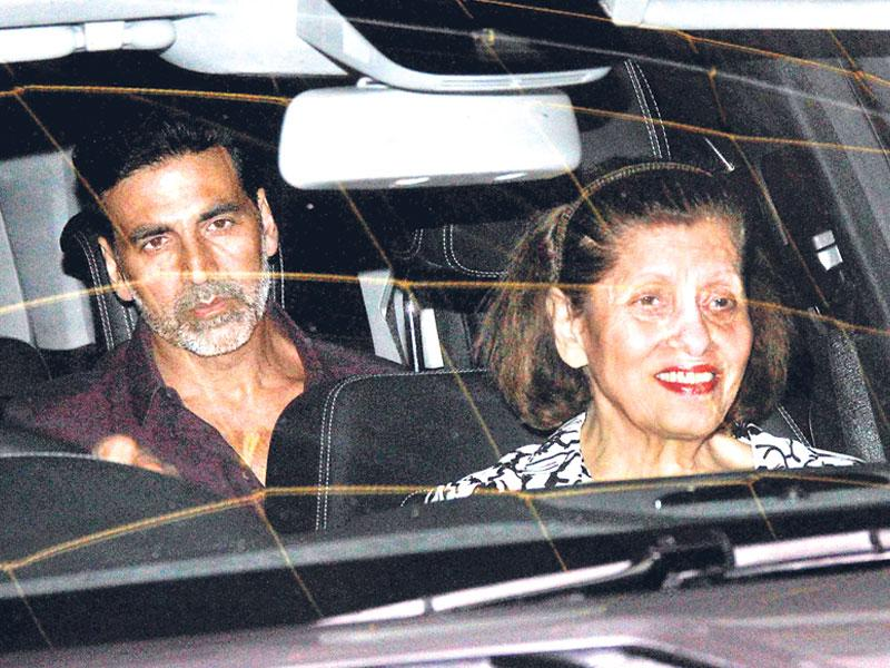 Akshay Kumar organised a special screening of his latest Brothers in Mumbai. (Photo: Yogen Shah)
