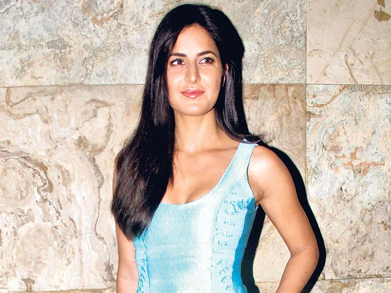 Katrina Kaif attended a special screening of Brothers and was accompanied by rumoured boyfriend Ranbir Kapoor. (Photo: Yogen Shah)