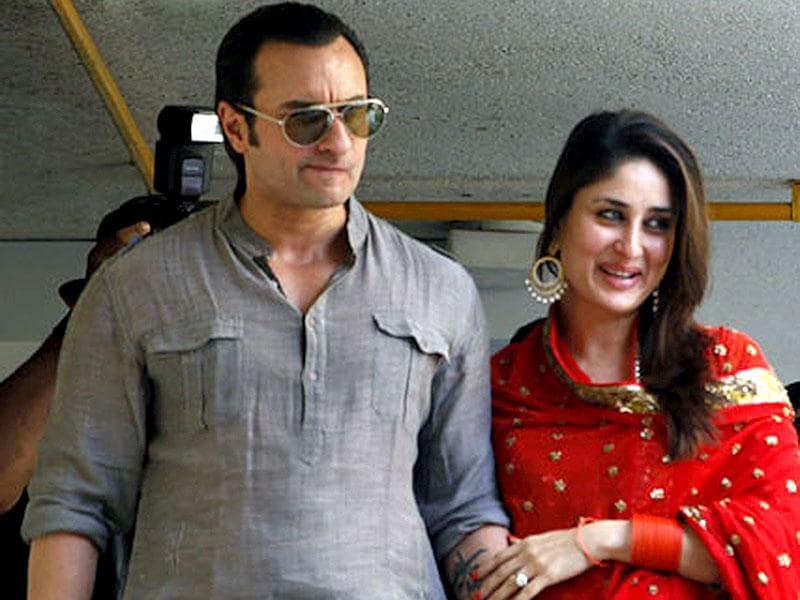 Now, Saif can pull off three-piece suits with as such as elan as a kurta pyjama, like he did right after his his wedding in 2012.