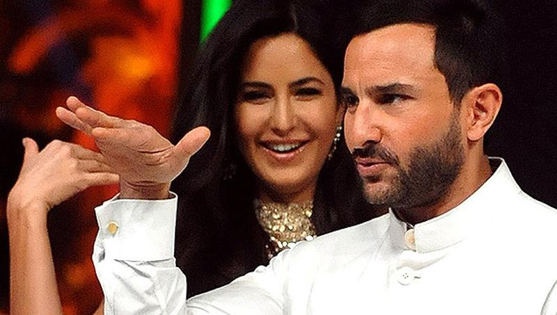 Bollywood's Nawab Saif Ali Khan looked extremely classy in his white outfit on a dance reality show he came on, along with Katrina Kaif, recently.