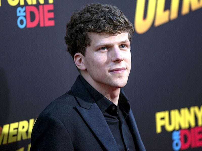 Jesse Eisenberg at the Los Angeles premiere of his new action-comedy American Ultra. (Los Angeles)