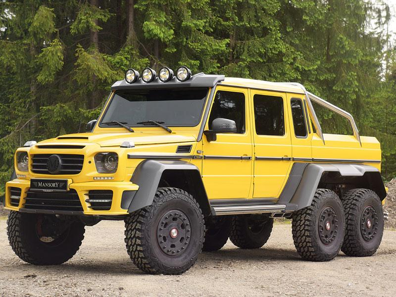 Mansory Gronos 6x6 - from $1.4 million : As well as offering