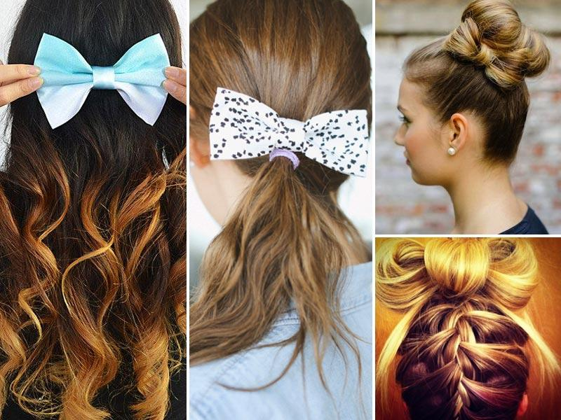 This is one trend that's turning heads and how! Here's how you can try these looks. Starting with the hair bow. (Pinteresrt Photos)