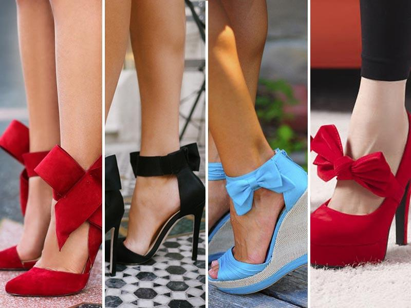 Pumps with a bow: These bow pumps are Carrie-worthy for sure (a little nod to Sex and the City for ya). We think they're even Oscar worthy.