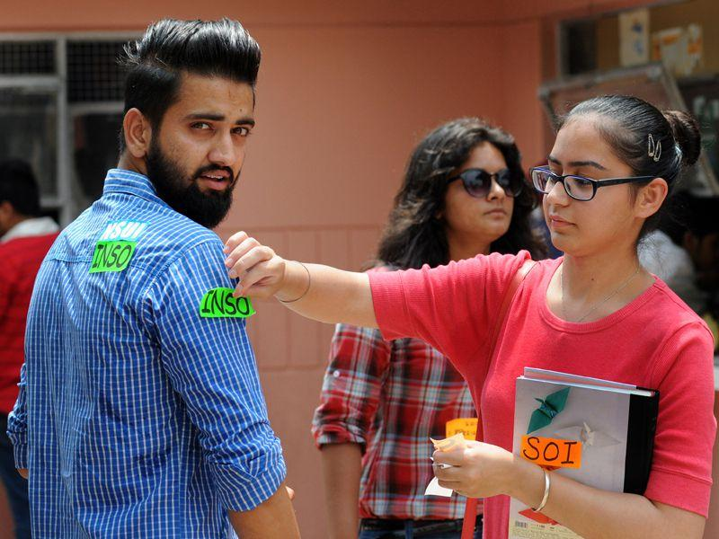 Earlier, the elections were scheduled to take place on August 28 but students' bodies protested against it as August 29 was Raksha Bandhan. Gurminder Singh/HT