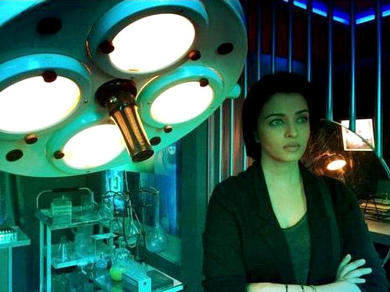 Aishwarya Rai Bachchan in a still from Jazbaa.