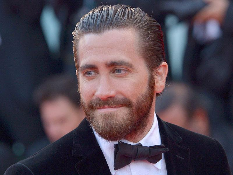 Actor Jake Gyllenhaal arrives in style for the Venice premiere of his new film Everest. (AFP)