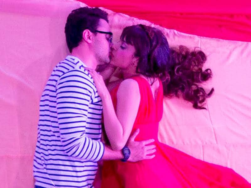 Kangana Ranaut and Imran Khan shot for three days for the song Lip to Lip in Katti Batti.